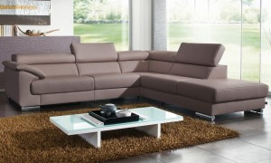 Contemporary Living Room Furniture Grey Schillig Sofa Glass Top
