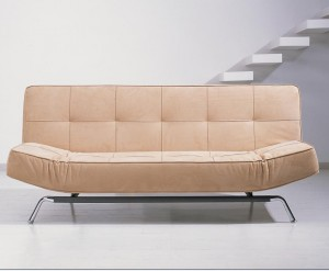 Unique-Design-Modern-Sofa-For-Decorating-Your-Stylish-Living-Room-Ideas-Cozy-Brown-Tufted-Modern-Sofa-Bed-With-Iron-Feet-Set-Back-Without-Banister-Stairs