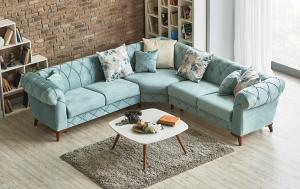 sofa gia dinh xanh ngoc