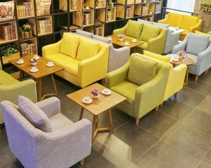 đóng ghế sofa cho quán cafe